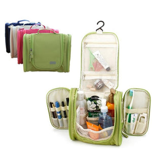 Hanging Travel Organizer - Travel Toiletry Bag - PurpliKi