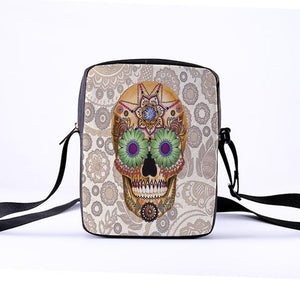Skull Shoulder Bag - Crossbody Bags - PurpliKi