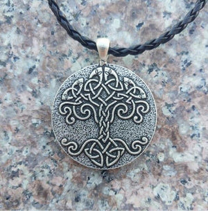 Celtic Tree of Life Necklace - Pendant Necklaces - PurpliKi