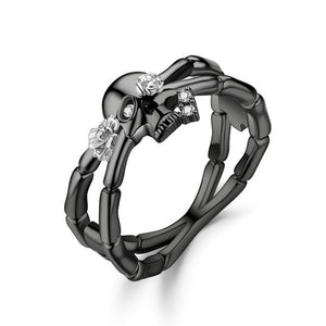 Skeleton Hand Ring - Rings - PurpliKi