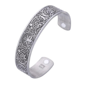 Tree of Life Magnetic Bangle - Charm Bracelets - PurpliKi
