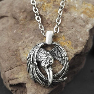 Raven Spirit Animal Pendant - Pendant - PurpliKi