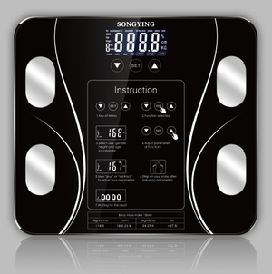 Body Fat Scale & Health Analysis - Body Fat Scale & Health Analysis - PurpliKi
