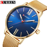Luxury Quartz Men's Stainless Steel Mesh Watch