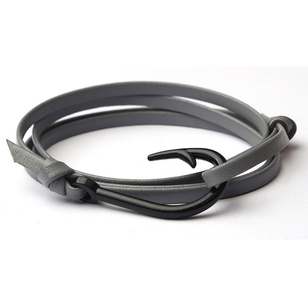 Leather Multilayer Hook Bracelet