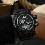 Military Grade Sports Chronograph Watch With LED Display