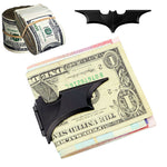 Black Metal Batman Money Clip Wallet