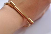 Shackle Screw Cuff Bangle