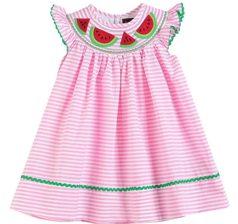 Favorite Watermelon Bishop Dress