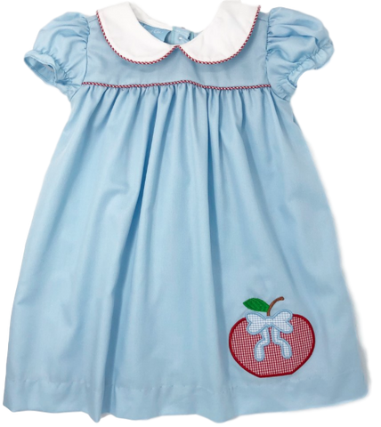 Appliqué Apple Dress