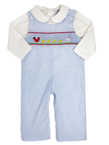 Farm Friends - Smocked Longall Set