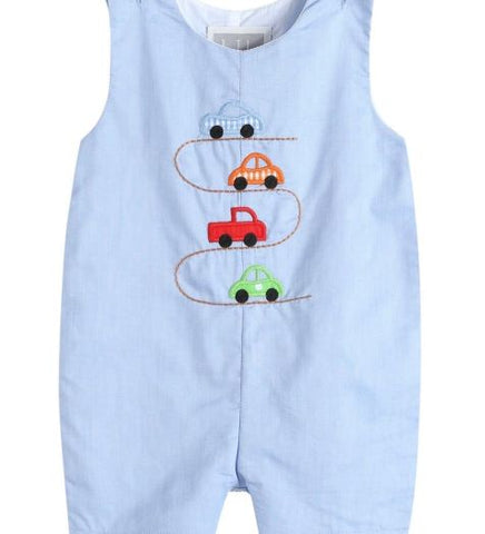Race Track Shortalls (Blue)
