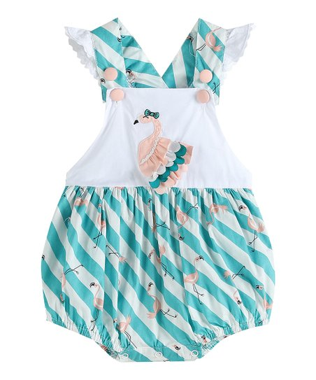 Frills and Flamingos Romper