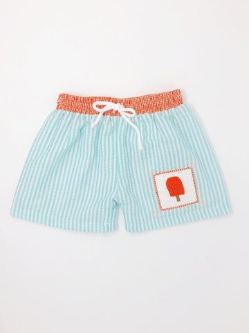 Poolside Popsicle Swim Trunks