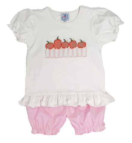 Five Little Pumpkin Bloomer Set