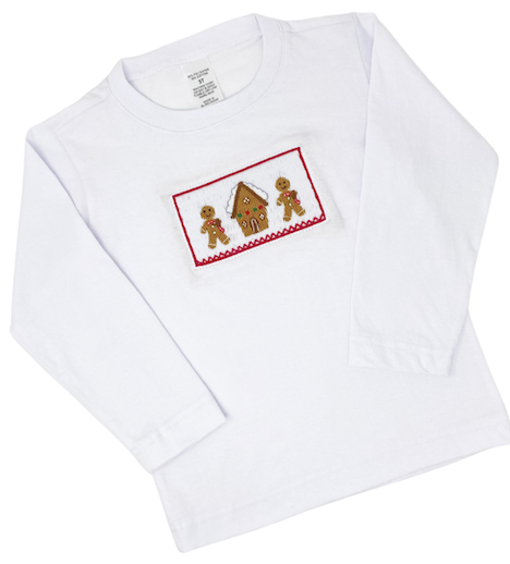 Boys Gingerbread Shirt