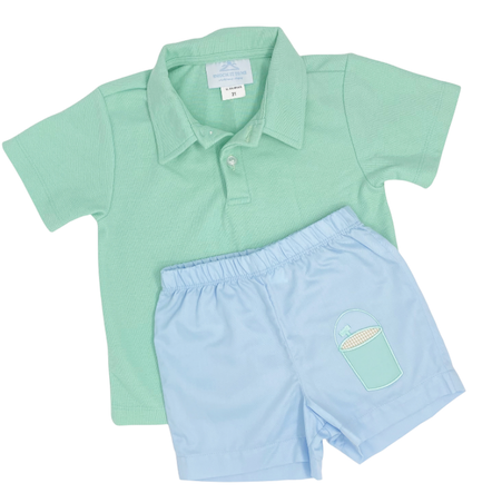 Sand Pail Short Set