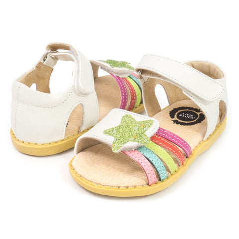 Livie and Luca Nova Sandal (Milk)