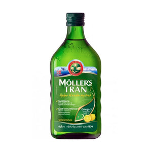 Möller's Cod Liver Oil Lemon