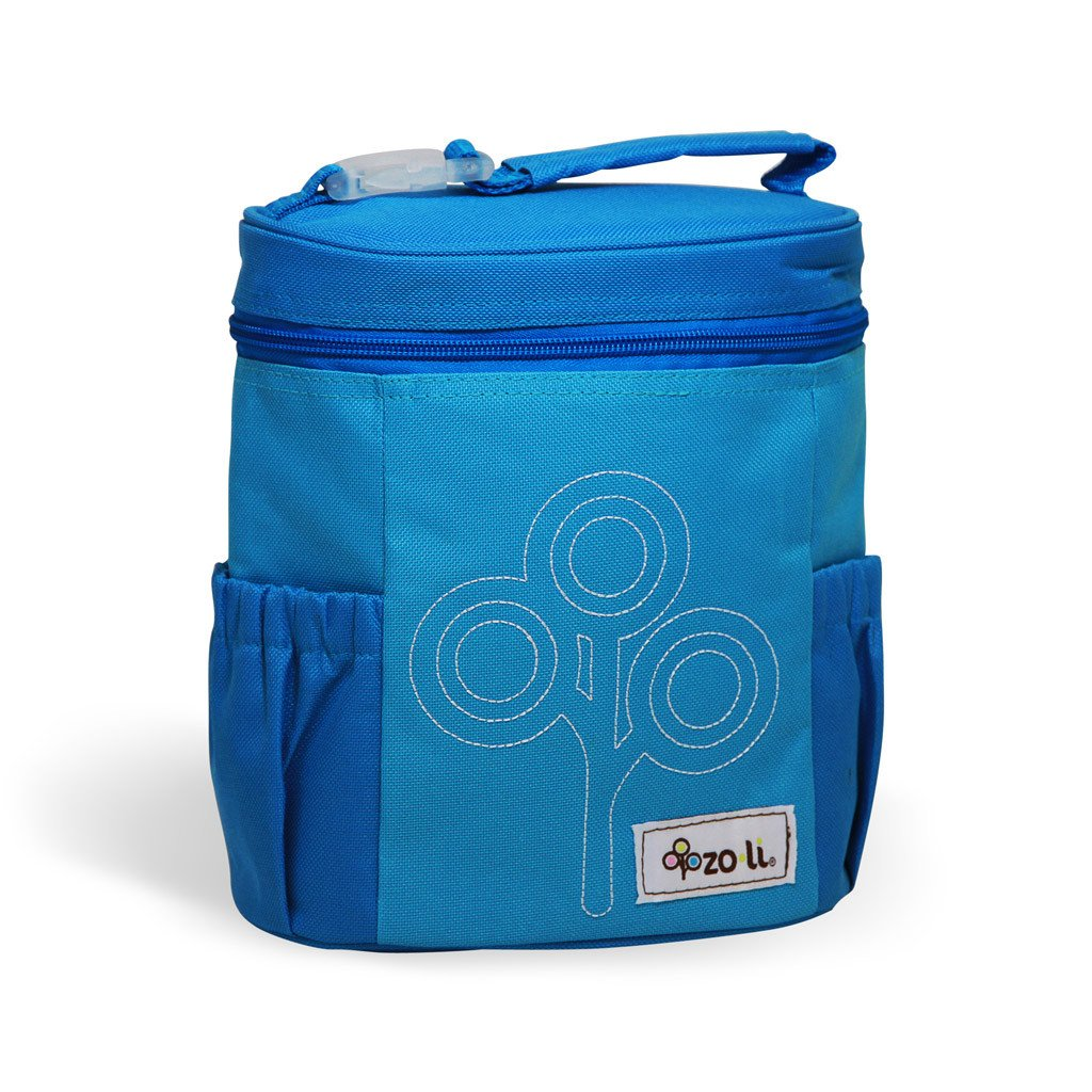 Zoli NOMNOM Insulated Lunch Tote (Blue)