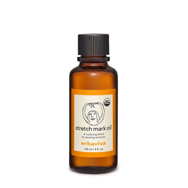 erbaviva organic stretch mark oil