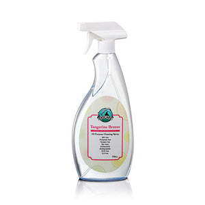 idocare tangerine breeze all purpose cleaning spray
