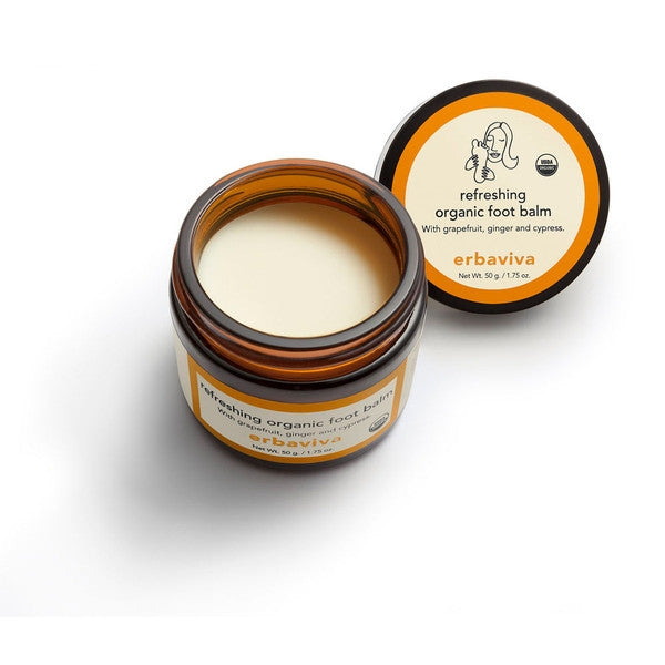 erbaviva refreshing organic foot balm