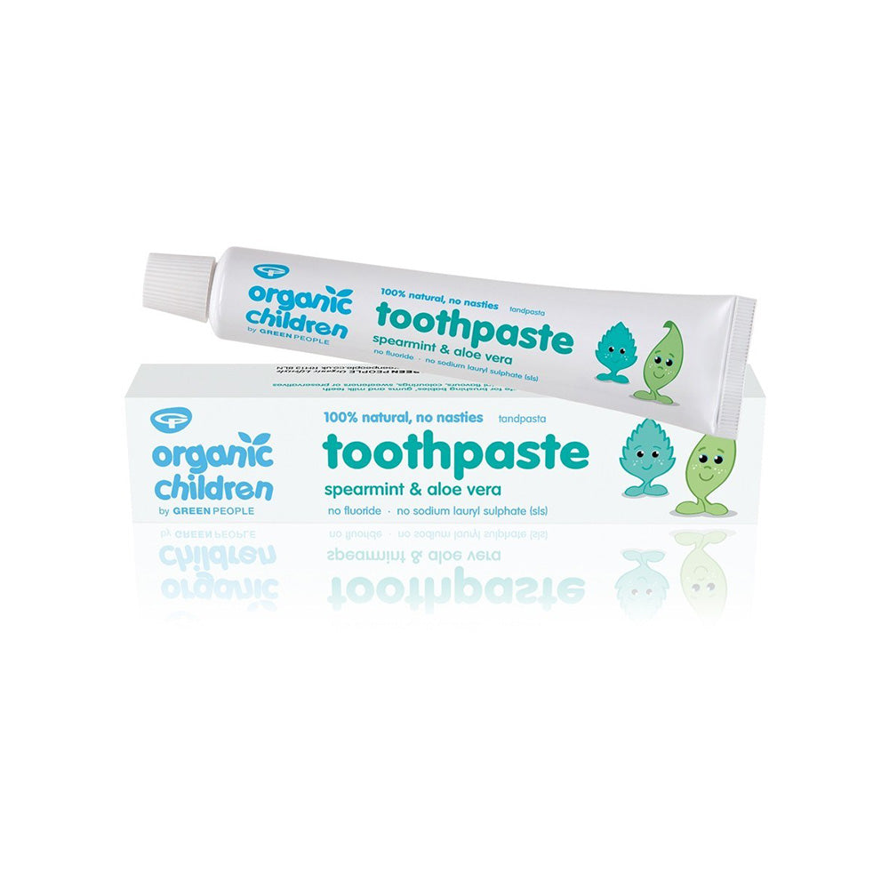 Green People Organic Children Toothpaste - Spearmint & Aloe Vera