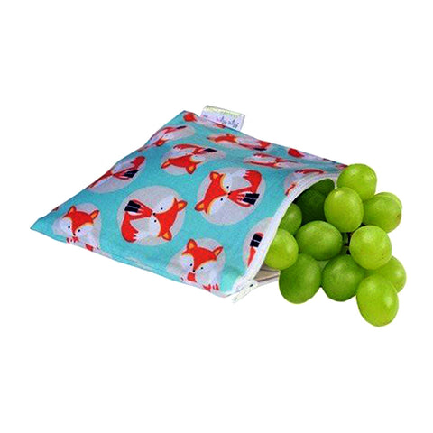 Itzy Ritzy Snack Happens Reusable Snack Bags - Little Fox