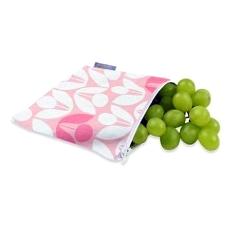 Itzy Ritzy Snack Happens Reusable Snack Bags - Modern Floral