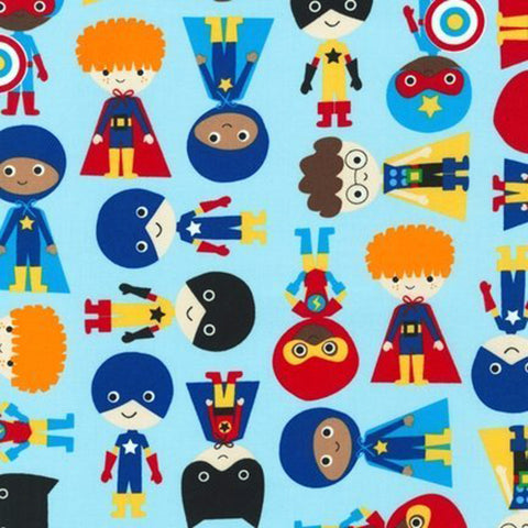 Itzy Ritzy Snack Happens Mini Reusable Snack Bag - Playground Superheroes Remix