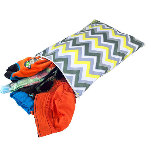 Itzy Ritzy Wet Bag - Sunshine Chevon