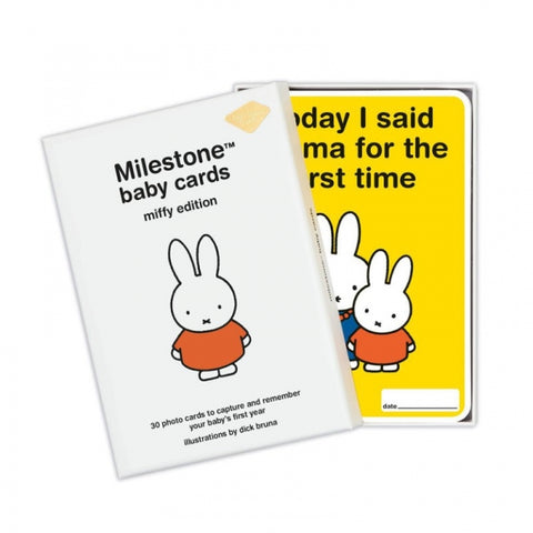 milestone miffy baby cards