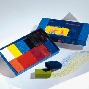 stockmar wax blocks 12 colours
