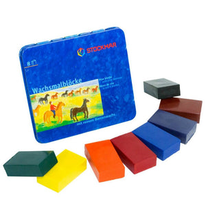 stockmar wax blocks 8 colours