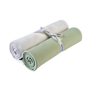 Under the Nile Swaddle Blanket - Sage