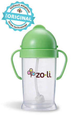 Zoli BOT XL 9oz Straw Sippy Cup (Green)