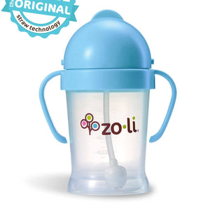 Zoli BOT  6oz. Straw Sippy Cup (Blue)