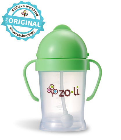 Zoli BOT  6oz. Straw Sippy Cup (Green)