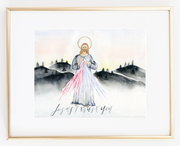 Divine Mercy: Jesus I trust you