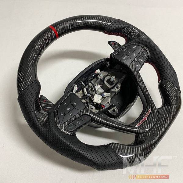 "2014-2020 Jeep Grand Cherokee ""TrailHawk"" Carbon Steering Wheel"