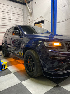 Jeep Grand Cherokee Single-Color (Turn Signal SwitchBack)  Aluminum Underbody