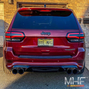 2014-2020 Jeep Grand Cherokee Rear Led Black Out Package