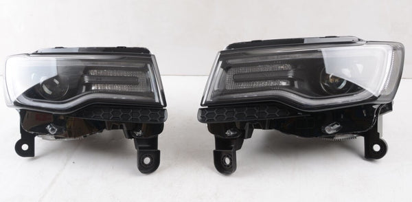 2014-2020 Jeep Grand Cherokee Euro Version Bi-Xenon LED Headlamps