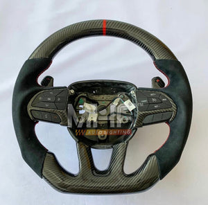 2014-2020 Jeep/ Dodge Carbon Steering Wheel