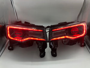 2011-2020 Prebuilt RGBW Jeep Grand Cherokee Bi-Xenon Headlamps