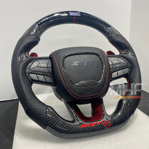 2014- 2021 Carbon Hellcat SRT Steering Wheel