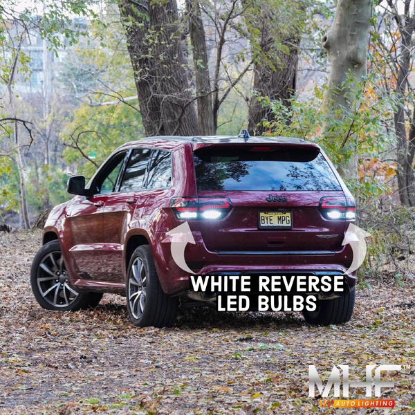 2011-2020 Rear LED Replacement Bulbs Jeep WK2