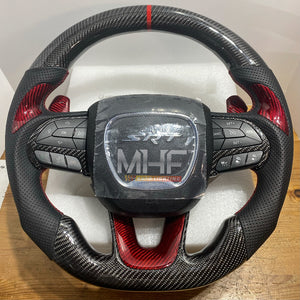 2014- 2020 Carbon Jeep SRT Steering Wheel