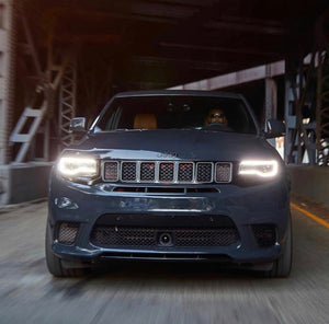 2014-19 Jeep Grand Cherokee Bi-Xenon LED Headlamps
